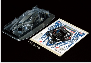 타미야,15466,TAMIYA, Aero Avante Clear Body Set